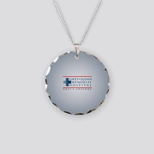 Grey Sloan Memorial Hospital Necklace Circle Charm