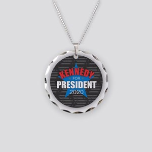 Kennedy for President 2020 Necklace Circle Charm