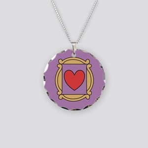 Friends TV Show Necklace Circle Charm
