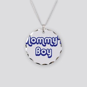 Mommy's Boy Necklace Circle Charm