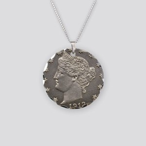1913_liberty_nickel_obv Necklace Circle Charm
