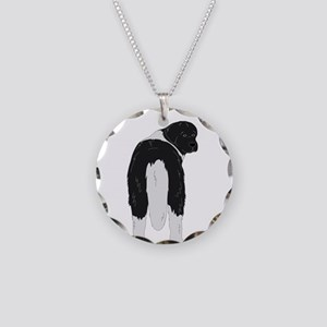 Landseer Junk in the Trunk Necklace Circle Charm
