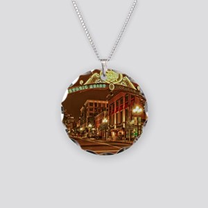 Gaslamp2 Necklace Circle Charm
