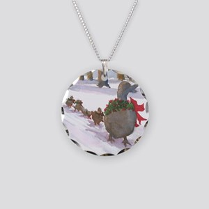 Boston Common Ducks at Chris Necklace Circle Charm