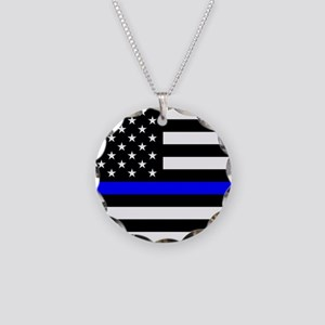 Police: Black Flag & The Thin Blue Line Necklace