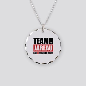 Team Jareau Necklace Circle Charm