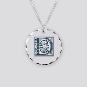 Monogram - Douglas Necklace Circle Charm