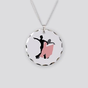 Dancing Necklace Circle Charm