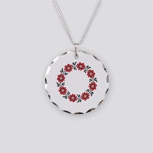 UkrPrint Necklace Circle Charm