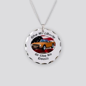 Triumph TR6 Necklace Circle Charm