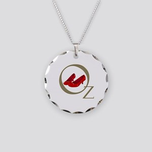 Wizard Of Oz Necklace Circle Charm