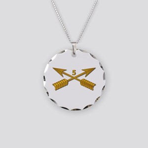 5th SFG Branch wo Txt Necklace Circle Charm