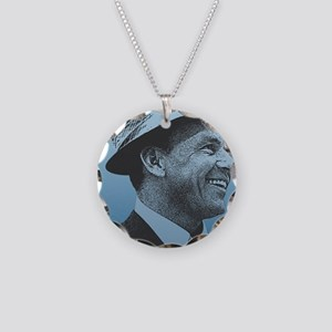 SINATRA: Confidence Is King  Necklace Circle Charm