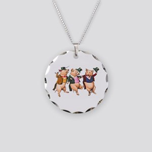 Three Little Pigs Necklace