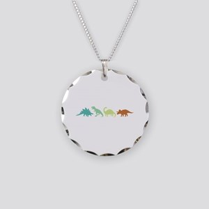 Prehistoric Medley Border Necklace