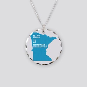 Minnesota Necklace Circle Charm