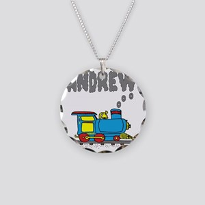 andrew-train2 Necklace Circle Charm