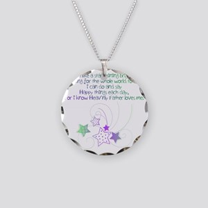 like a star 4 Necklace Circle Charm