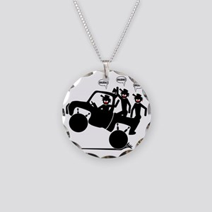 truck-4x-35 Necklace Circle Charm