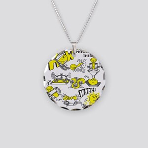 How physical therapy works Necklace Circle Charm