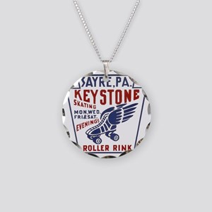 keystone2 Necklace Circle Charm