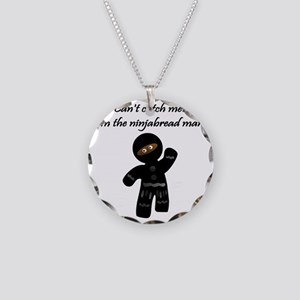 The-Ninjabread-Man Necklace Circle Charm