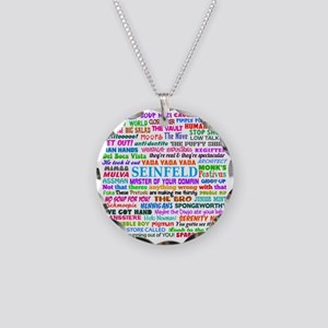 Seinfeld V2 Necklace Circle Charm