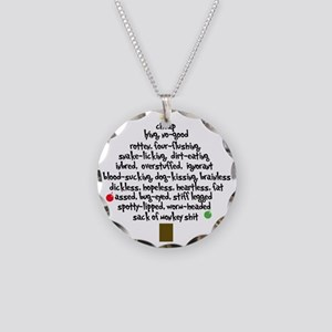 Frank Shirley Rant b Necklace Circle Charm