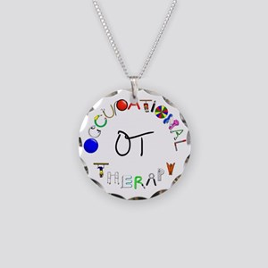 ot round Necklace Circle Charm