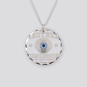 Property of The Twilight Zon Necklace Circle Charm