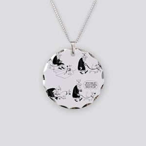 The Most Powerful Being in t Necklace Circle Charm
