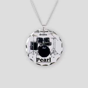 Pearl-design-1 Necklace Circle Charm