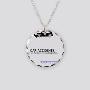 CarAccMerch Necklace Circle Charm