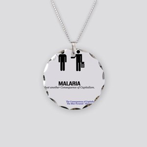 MalMerch Necklace Circle Charm