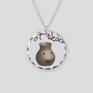 pot-head Necklace Circle Charm