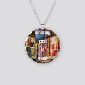 An amazing cast is good comp Necklace Circle Charm