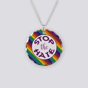 STOP THE HATE. Necklace