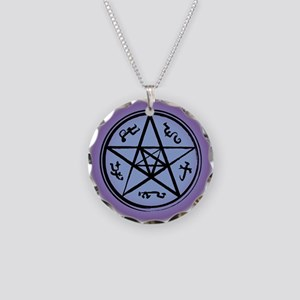 Supernatural Devil's Trap Necklace Circle Charm