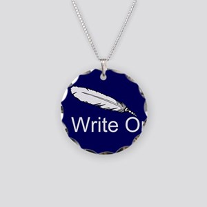 Write On Necklace