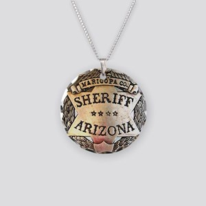 Maricopa Arizona Sheriff Necklace Circle Charm