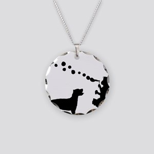 Cane-Corso28 Necklace Circle Charm