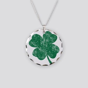 St Patrick's Shamrock Necklace