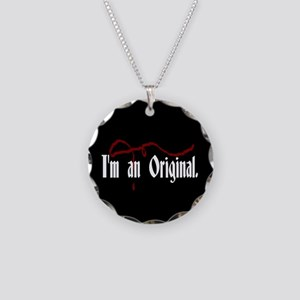 I'm An Original Necklace Circle Charm