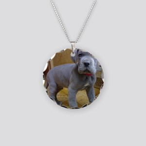 great dane blue puppy ls Necklace