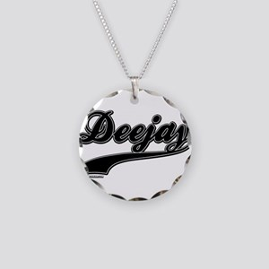 DeeJay Necklace Circle Charm