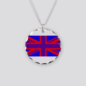 United Kingdom flag e6 Necklace