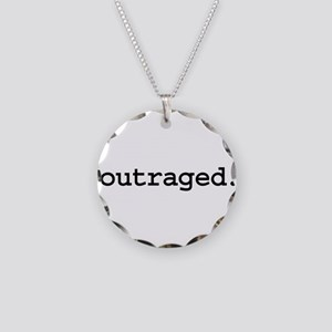 outraged. Necklace Circle Charm