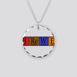 Periodic-BOCK Necklace Circle Charm