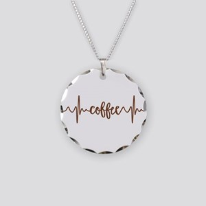 COFFEE HEARTBEAT Necklace