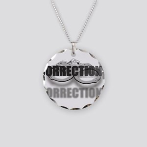 CUFFSCORRECTIONS Necklace Circle Charm